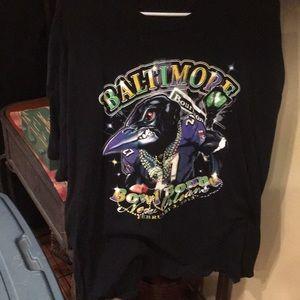 Men's Baltimore Ravens tee nfl brand xxl euc